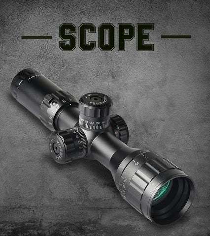 d01c12efdd2 A scope that has a duplex reticle with windage and elevation is a useful  piece of equipment to have while on a hunt. It s only as good as the rifle  and the ...
