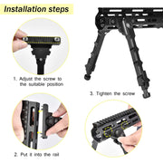 installation steps for bipod