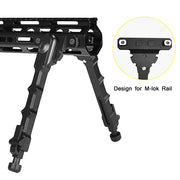 CVlife Tactical M-LOK Bipod 7.5-9 Inches Hunting Shooting