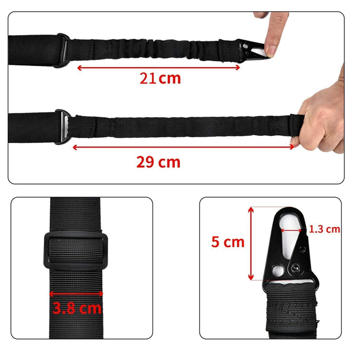 length adjustor traditional sling