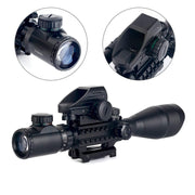 reflex sight hunting rifle scope