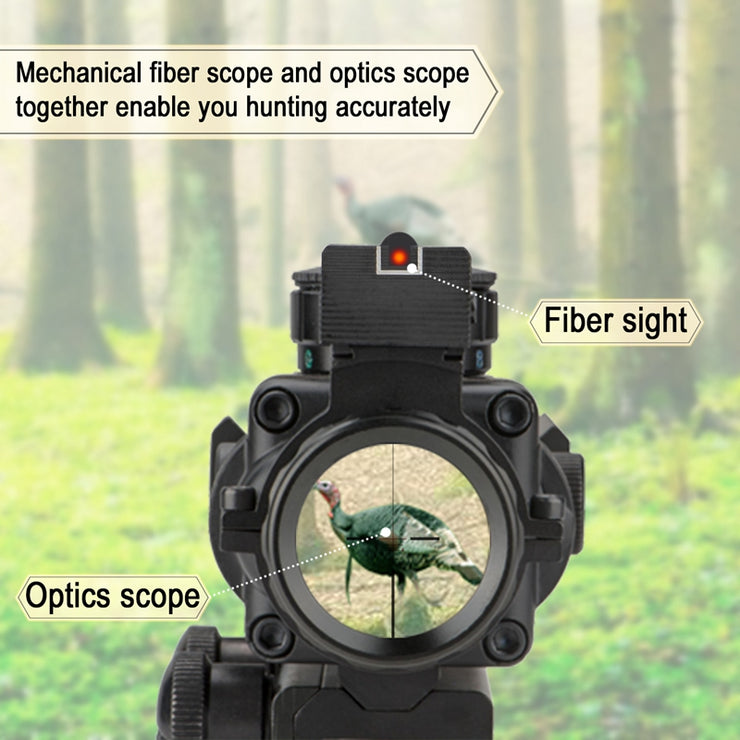 mechanical fiber scope