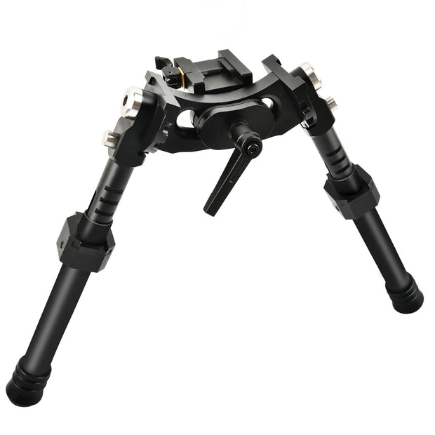 CVLIFE Heavy Duty 8.5-12'' Latest Carbon Fiber Tactical Bipod with QD Adapter