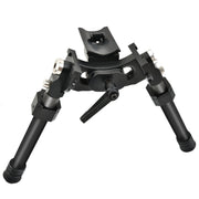 CVLIFE Heavy Duty 8.5-12'' Latest Carbon Fiber Swivel Stud Bipod with Adapter
