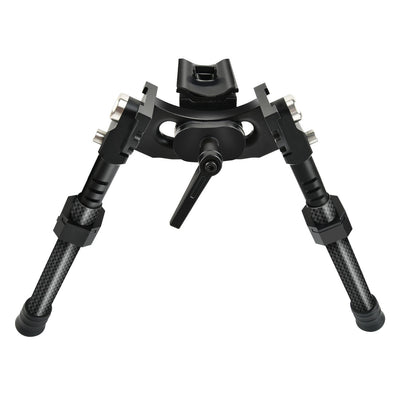 CVLIFE Heavy Duty 8.5-12'' Carbon Fiber Swivel Stud Bipod with Adapter