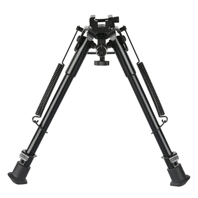 rifle bipod with solid sling base