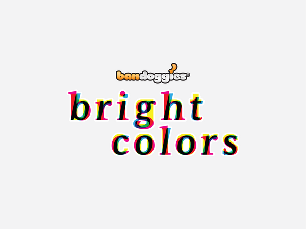 Bandoggies® Bright Colors
