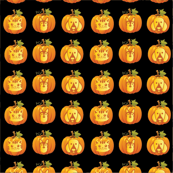 Jack-O-Lanterns Bandoggies™ Pattern