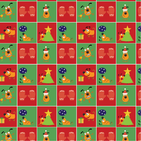 Santa Paws Bandoggies™ Pattern