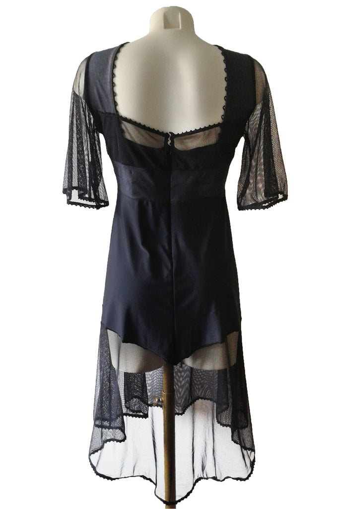 tentation fatale robe longue sexy chic grande taille noir club libertin resille
