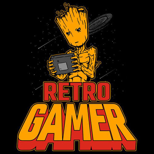 Retro Gamer Groot
