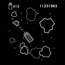 Load image into Gallery viewer, Tardis Asteroids