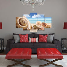 Load image into Gallery viewer, Seaside Shell HD Prints Home Decoration Living Room Canvas