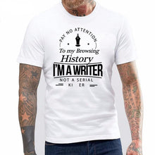 Load image into Gallery viewer, Writer's Men T-shirt