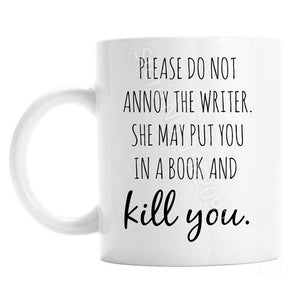 Funny Birthday Christmas Gifts for A writer Novelty
