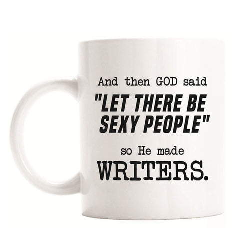Funny Writer Coffee Mug Tea Cup Novelty