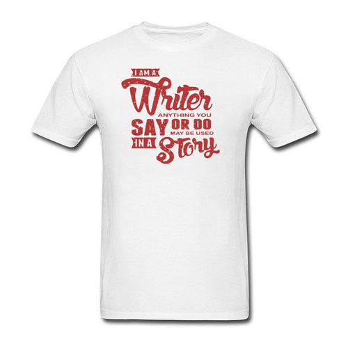 I Am A Writer Men Casual T-Shirt