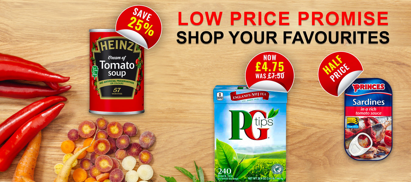 Online supermarket low prices