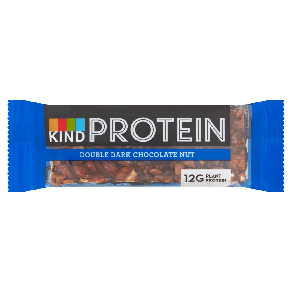 Kind Protein Double Dark Chocolate Nut, 50g (Box of 12)