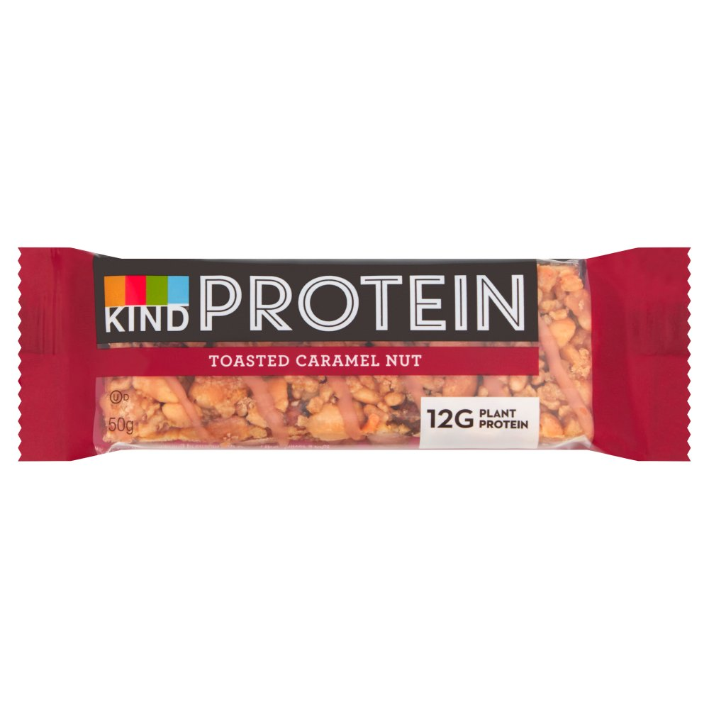Kind Protein Toasted Caramel Nut, 50g (Box of 12)