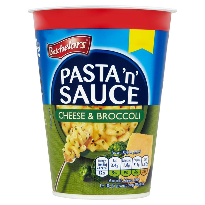 Batchelors Pasta 'n' Sauce Cheese & Broccoli, 65g (Case of 6)