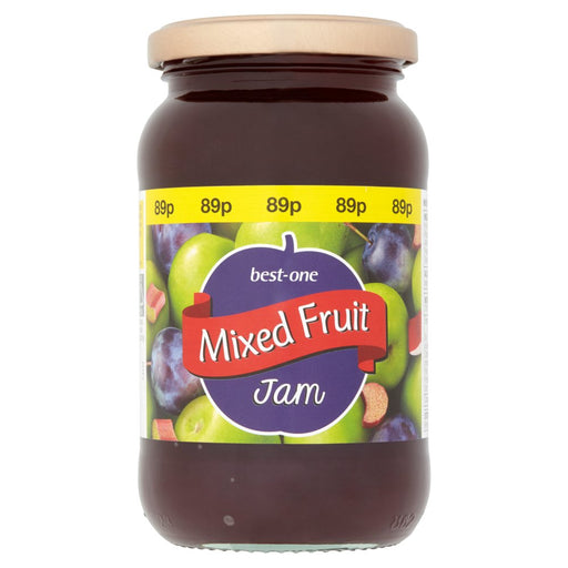 Best-One Mixed Fruit Jam, 454g (Case of 6)