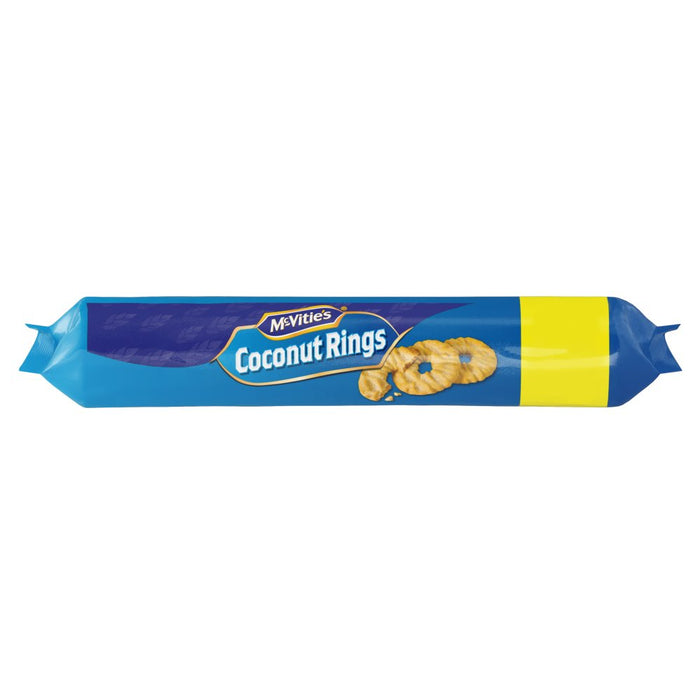 McVite's Coconut Rings 300g (Box of 12 x 300g)