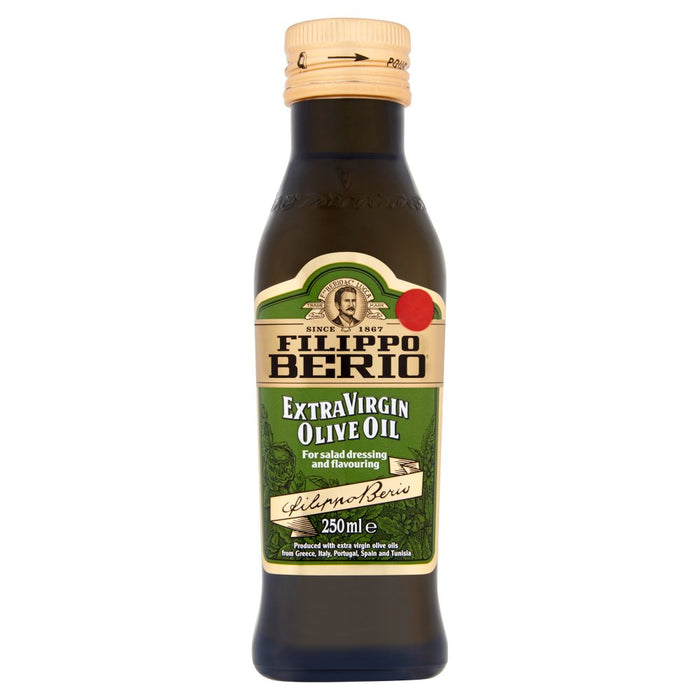 Filippo Berio Extra Virgin Olive Oil, 250ml (Case of 6)