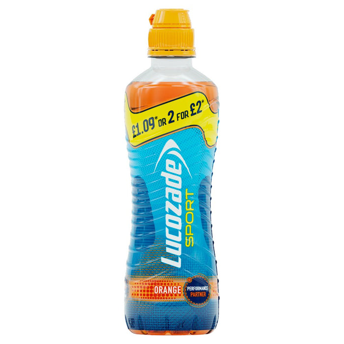 Lucozade Sport Orange, 500ml (Case of 12)
