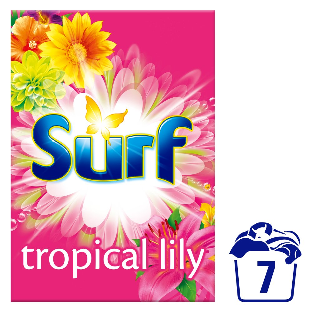 Surf Tropical Lily Washing Powder 7 Washes