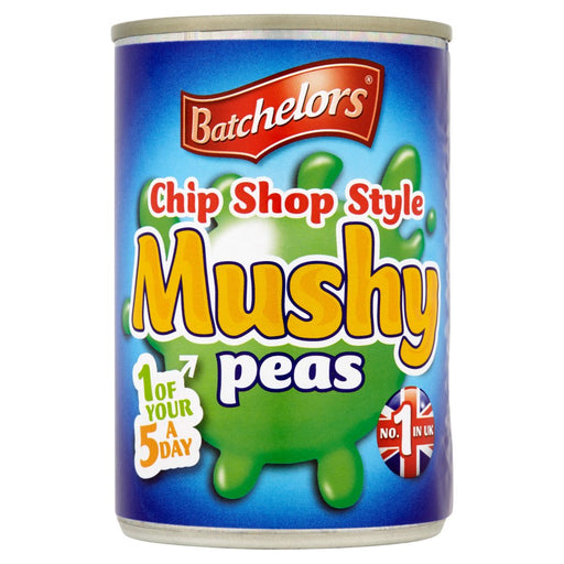 Batchelors Chip Shop Style Mushy Peas, 300g (Case of 12)
