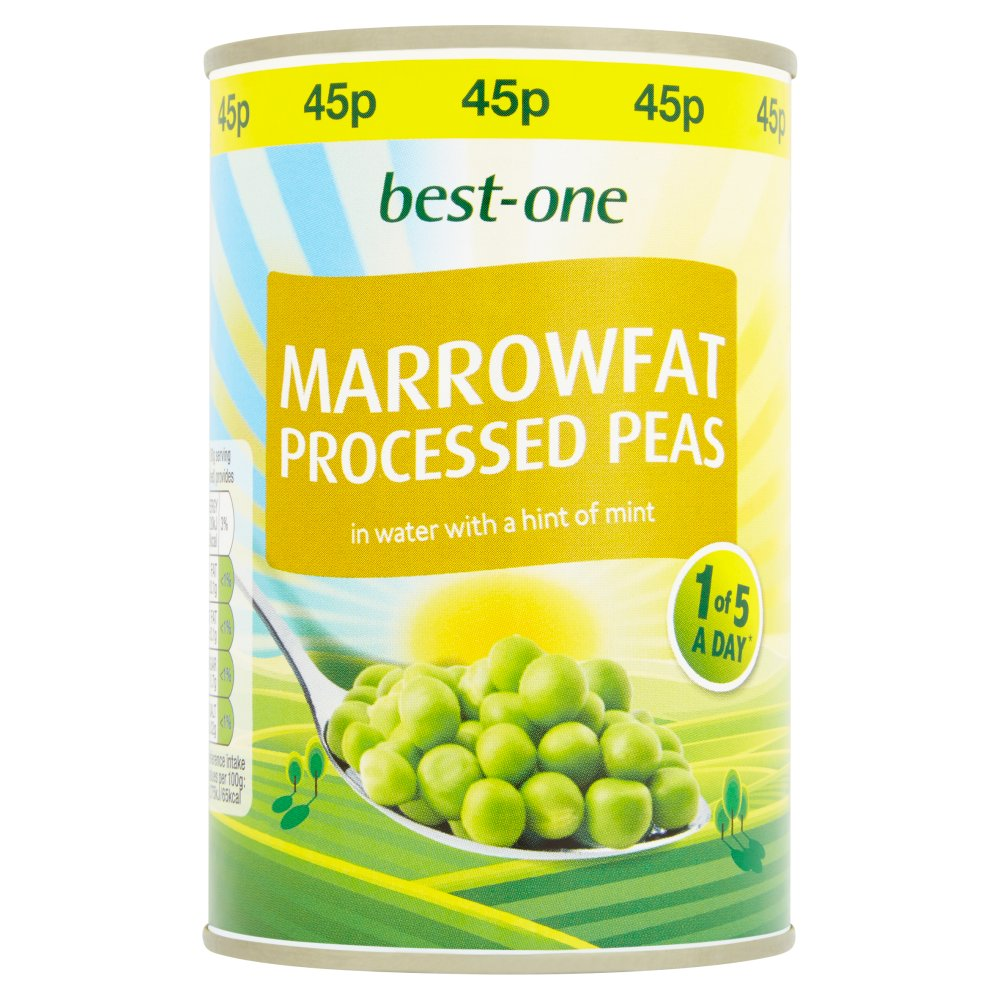 Best-One Marrowfat Processed Peas 300g
