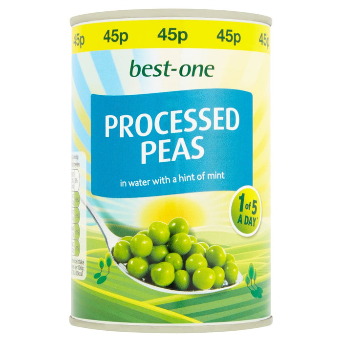 Best-One Processed Peas in Water with a Hint of Mint, 300g (Case of 12)