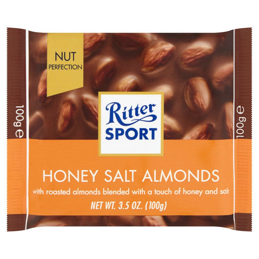 Ritter Sport Honey Salt Almonds, 100g (Pack of 5)