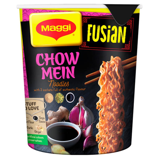 Maggi Fusian Chow Mein Noodle Pot, 72g (Pack of 5)