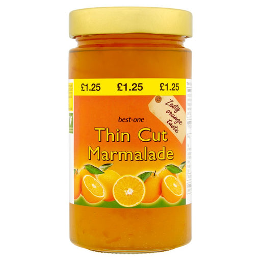 Best-One Thin Cut Marmalade, 454g (Case of 6)
