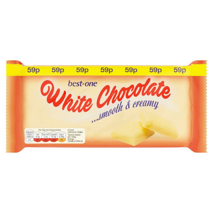 Best-One White Chocolate, 100g