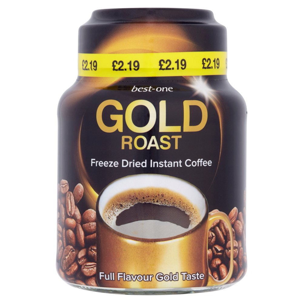Best-One Gold Roast Instant Coffee 100g