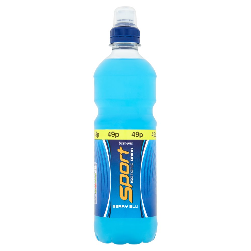 Best-One Sport Isotonic Berry Blu Drink, 500ml (Case of 12)