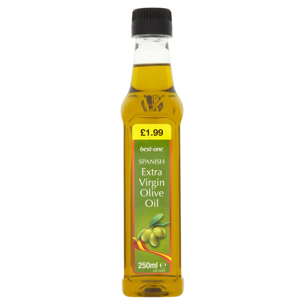 Best-One Spanish Extra Virgin Olive Oil, 250ml (Case of 6)