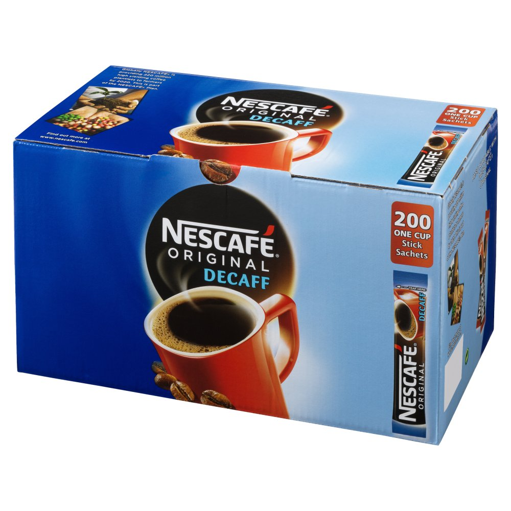 Nescafe Original Decaf Sticks (Box of 200)