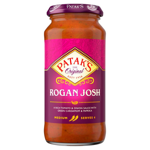 Patak's Rogan Josh Curry Sauce, 450g (Case of 6)