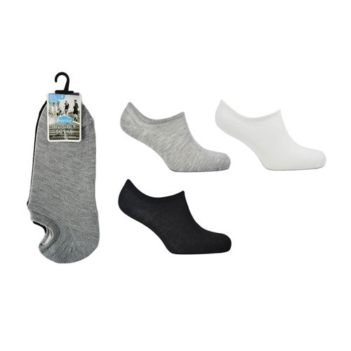 Mens ProHike Invisible Socks Assorted