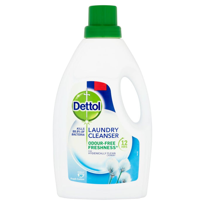 Dettol Laundry Cleanser Fresh Cotton 1Ltr