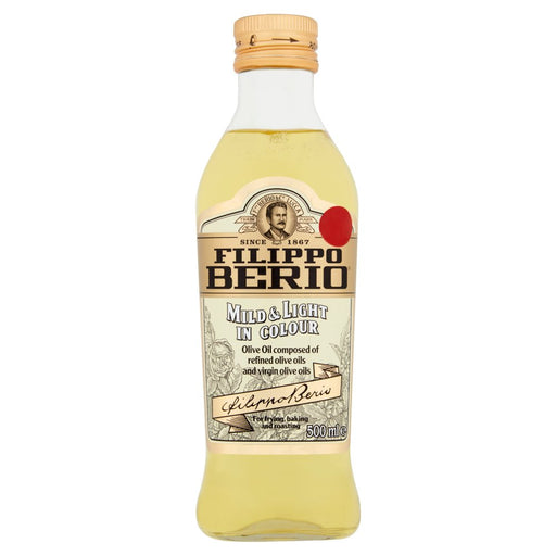 Filippo Berio Mild & Light Olive Oil, 500ml