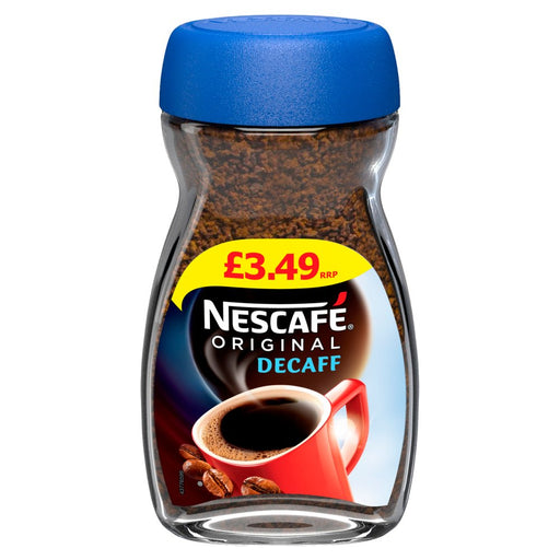 Nescafe Original Decaff Instant Coffee, 100g