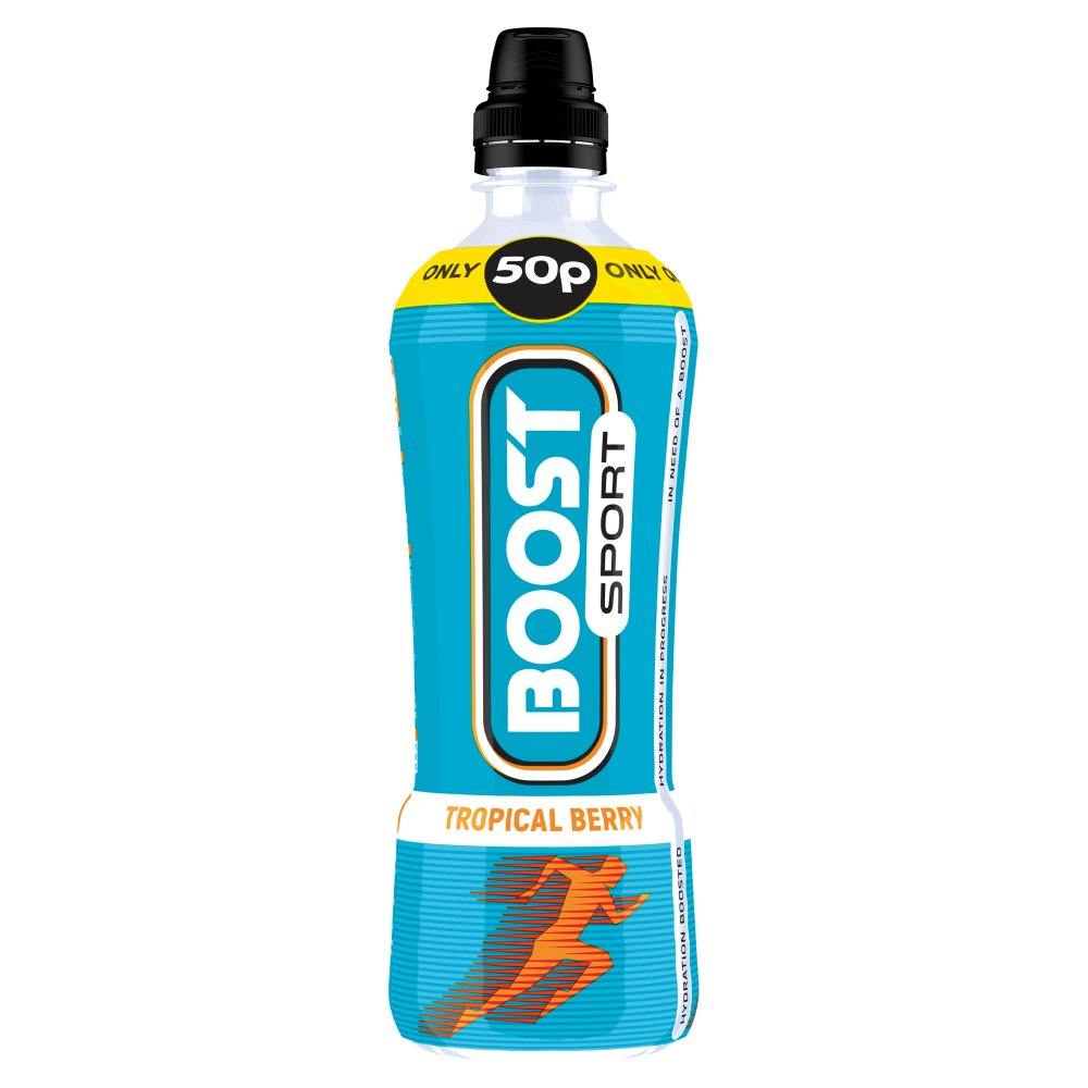 Boost Sport Tropical Berry, 500ml (Case of 12)