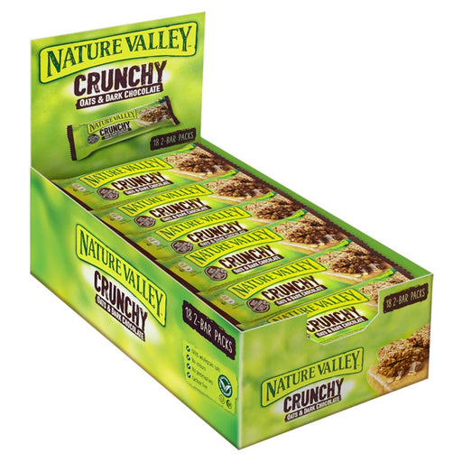 Nature Valley Crunchy Oats & Dark Chocolate Cereal Bar, 42g