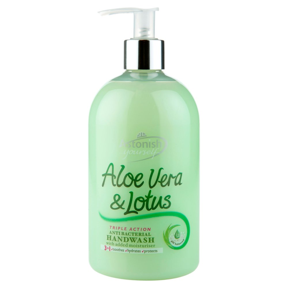 Astonish Handwash Aloevera & Lotus
