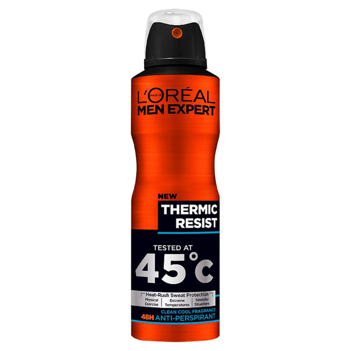 L'Oreal Men Expert Thermic Resist 48H Anti-Perspirant Deodorant, 250ml